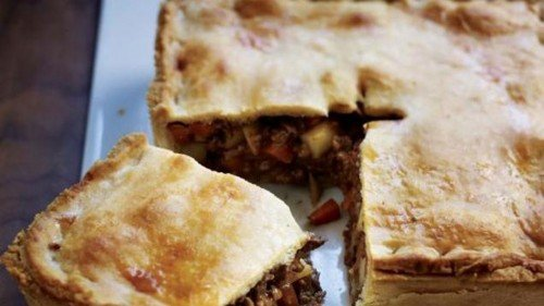 Meat And Potato Pie Cooking Recipe