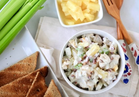 picture chicken pineapple salad