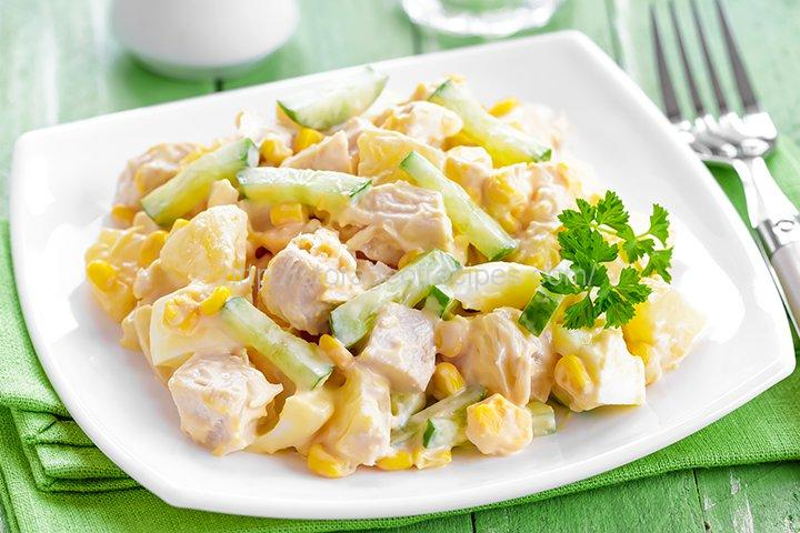 Pineapple Chicken Salad Cooking Recipe
